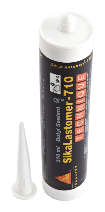 sikalastomer 710 rubber based butyl sealant black. Black Bedroom Furniture Sets. Home Design Ideas