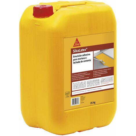 SikaLatex, Emulsion adhesiva para mortero o lechada de cemento, 5kg, Blanco