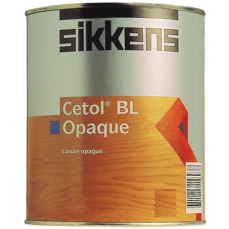 Sikkens Cetol BL Opaque Woodstain Paint - 2.5 Litres and 5 Litres - White