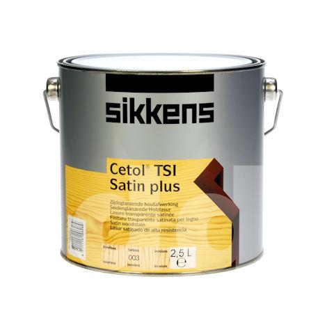 Sikkens Cetol Tsi Satin Plus 2.5L (select colour)