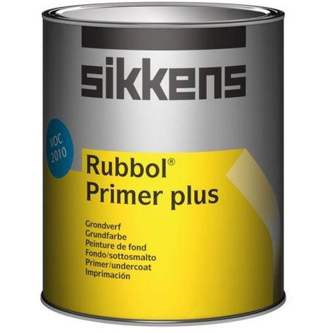 Sikkens Rubbol Primer Plus Paint - 1 Litre - White