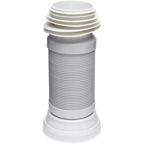 Siko Pipe flexible d'évacuation pour WC 40-85cm (E945FLEX)
