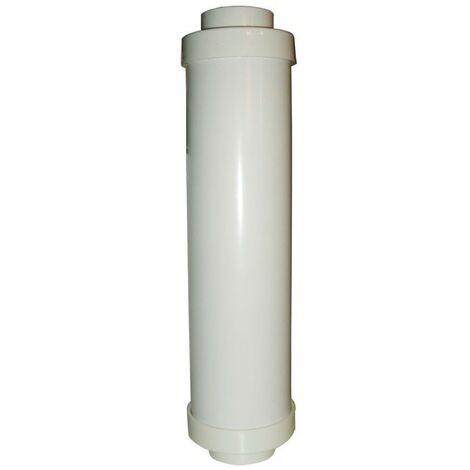 Silenciador 345 mm Para Central de Aspiración