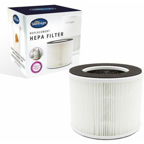 Silentnight 42169 Replacement HEPA Filter Air Purifier, Plastic