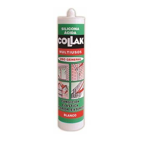 Silicona ácida blanca antimoho S-15 Collak 40602
