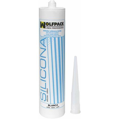 Silicona Acida S-15 Blanco