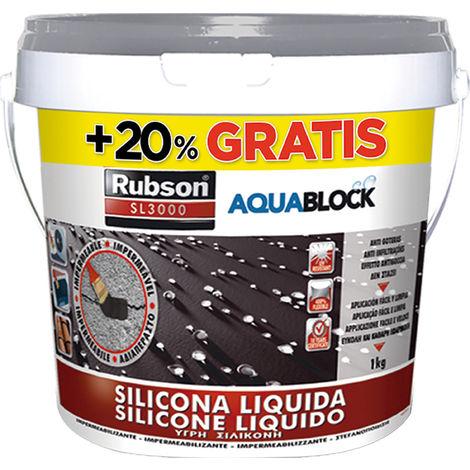 Silicona líquida Aquablock SL3000 Gris 1+0,2 KG