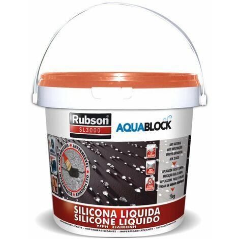 SILICONA LIQUIDA BLANCA 5 KG RUBSON
