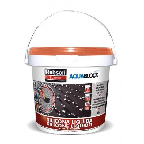Silicona Liquida Sl3000 Gris - RUBSON - 1139769 - 1 KG