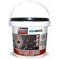 Silicona Liquida Sl3000 Negro 1 Kg - RUBSON - 1890700