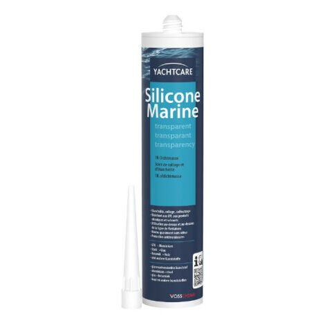 Silicona marina Yachtcare 310ml transparente