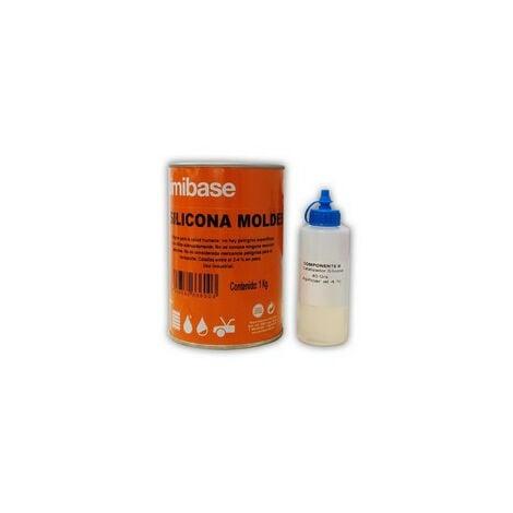 SILICONA MOLDES con catalizador 1 Kg