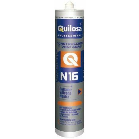 Silicona Neutra Construccion 300 Ml Bl Orbasil N-16 Quilosa