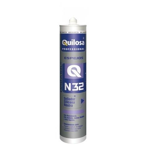 Silicona neutra espejos 300 ml bl orbasil n-32 quilosa