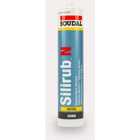 Silicona Neutra Silirub N 300 Ml. - Blanca