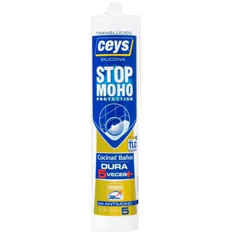 Silicona stop moho transparente Ceys