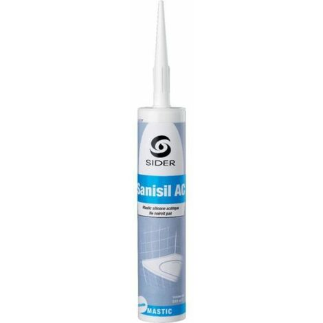 Silicone - 310 ml - Sanisil AC - Sélection Cazabox