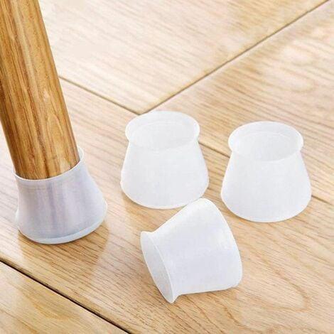 SILICONE CAP - Embouts Protecteurs pour Pieds de Chaises et Meubles