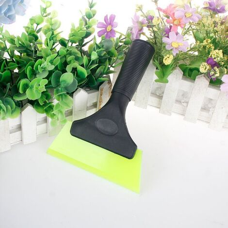 Silicone Multifunction Silicone Raclette for Bathroom, Shower Mirror, Window, Glass, Shower Door, Car Windshield, Window Scraper (Green)