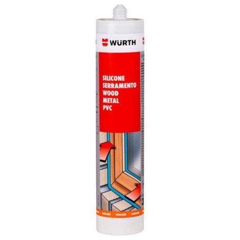 Silicone neutro ricarica A8 pro bianco perla 089285336 wurth