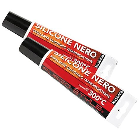Silicone noir 300°C en tube