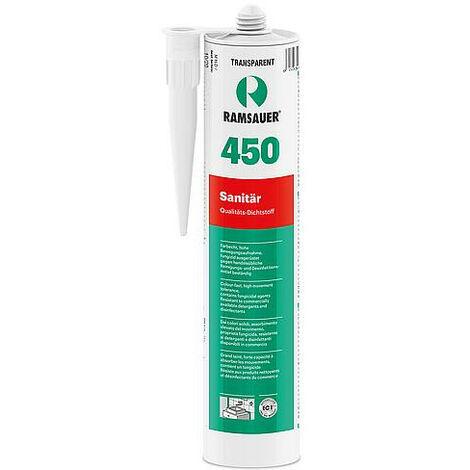 Silicone sanitaire joints 450 transparent - étanchéification haute gamme - 310ml