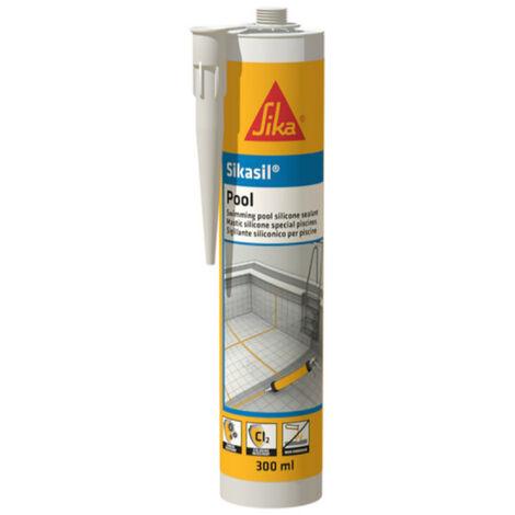 Silikon-Dichtstoff Sika Sikasil Pool - Weiß - 300ml