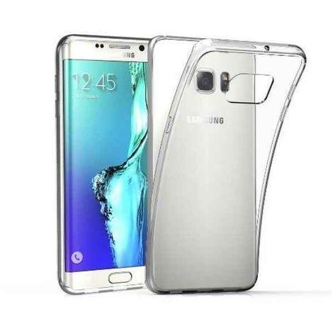 Silikon Schutzhülle für Samsung S6 edge/G9250 Transparent (2 mm)