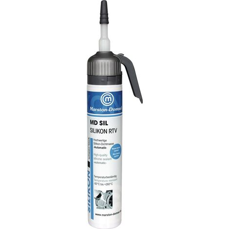 Silikondichtmasse MD schwarz 200 ml Automatik-Kartusche MARSTON