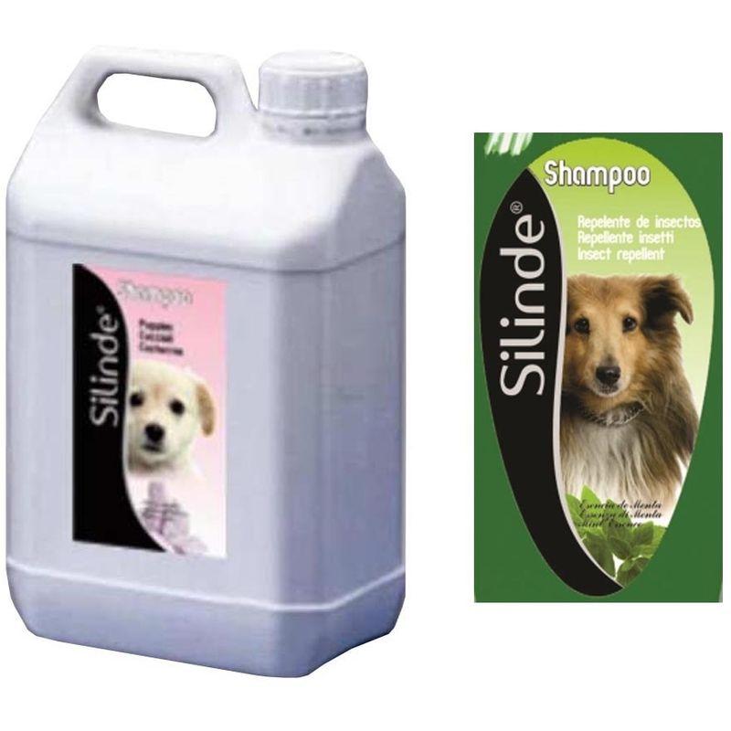 Prodotti Contro I Gechi silinde shampoo per cani repellente insetti tanica da 5 litri