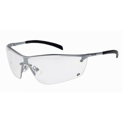 4f87ae1863cf Bolle Safety SILPSI Silium Safety Glasses - Clear - BOLSILPSI