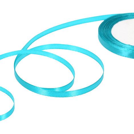 Silk satin ribbon party decorations 25 yards / roll width 6 mm 10 rolls