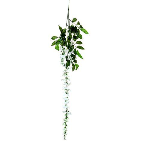 Silk Wisteria Flowers Vine Home Decor Mohoo Artificial Plant Wreath Wedding