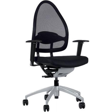Silla escritorio giratoria Open Base 10 negro