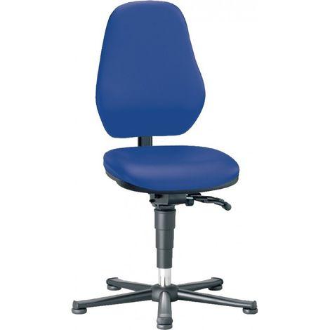 Silla escritorio Laboratorio Basic 3 en zapatillas y con estribos, Sistema sincrónica con ajuste de tensión, 9136-6902-502
