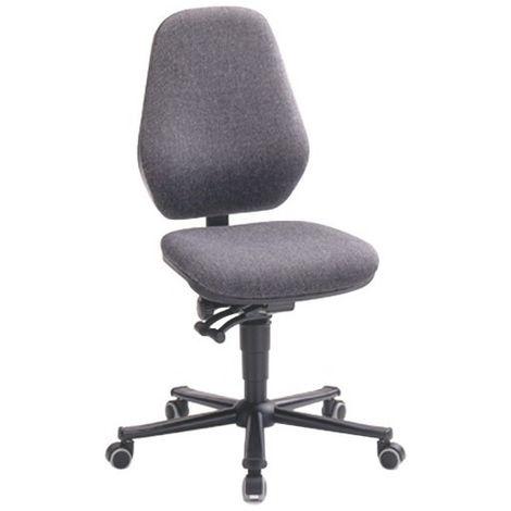 Silla escritorio Laboratorio Basic 3 en zapatillas y con estribos, tejido - Sistema sincrónica con ajuste de tensión, 9136-CI11-502