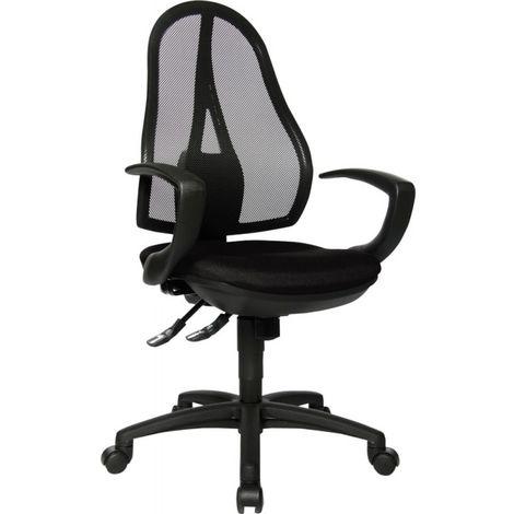 Silla escritorio Open Punto negro