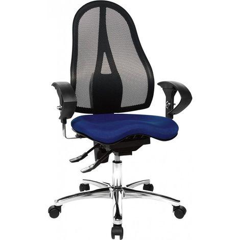 Silla escritorio Sitness 15 azul/ negro
