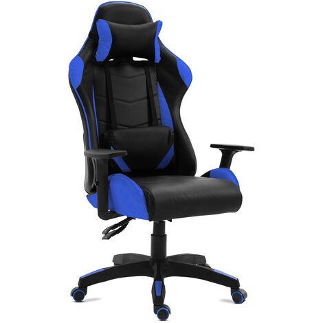Silla oficina gaming sillon despacho escritorio reclinable giratoria McHaus
