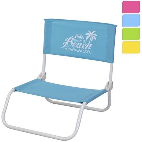 Silla Plegable De Playa (Colores Surtidos) NEOFERR 123664