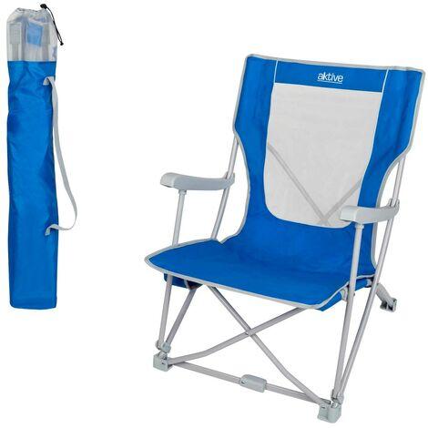 Silla plegable para camping aktive camping 59x68x78 cm