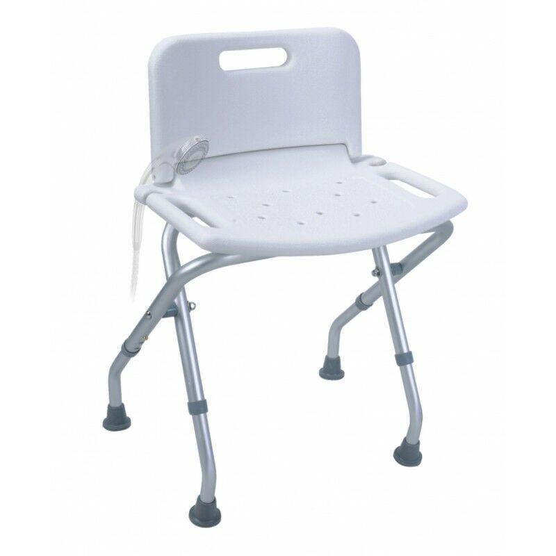 sillas plegables con respaldopara duchas