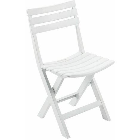 sillas blancas plegables de madera