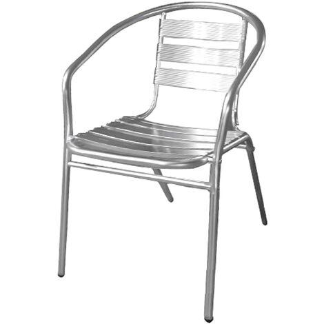 aluminio silla terraza
