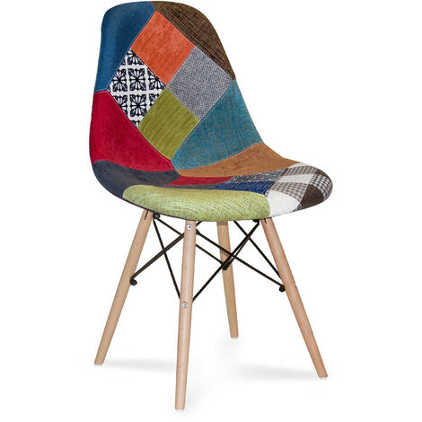 SILLA TOWER WOOD PATCHWORK