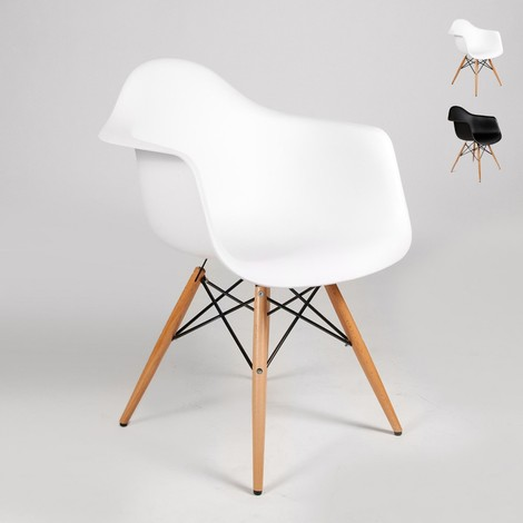 Sala Eiffel Barra Silla Espera Dsw Diseño Apoyabrazos De Cocina Wooden BdxoeC