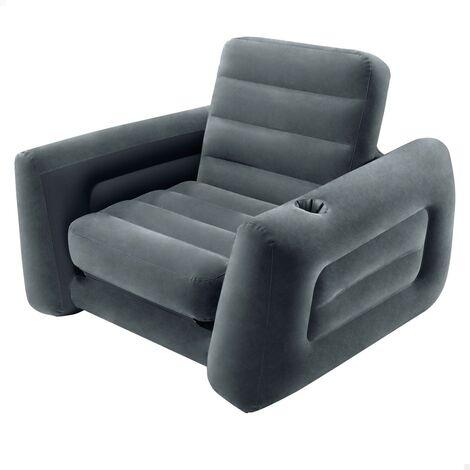 Sillón cama hinchable 2 en 1 117x224x66 cm (Intex 66551np)