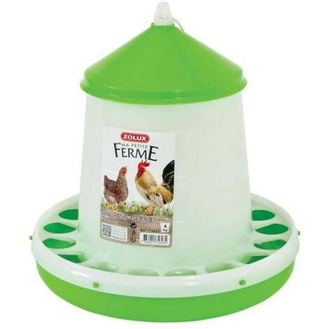 Silo feeder ZOLUX - Green - 4 Kg - 175623