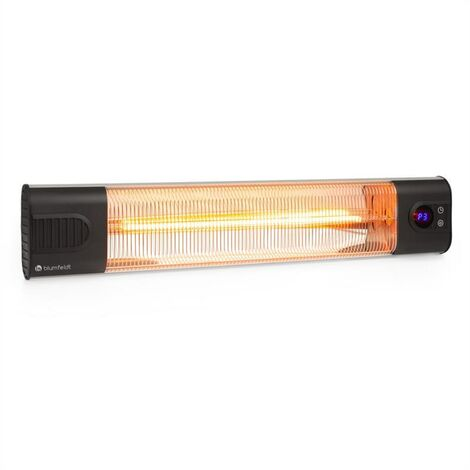 """main image of """"Silver Bar 2000 Infrared Radiant Heater 2000 W Max. IR ComfortHeat Timer"""""""