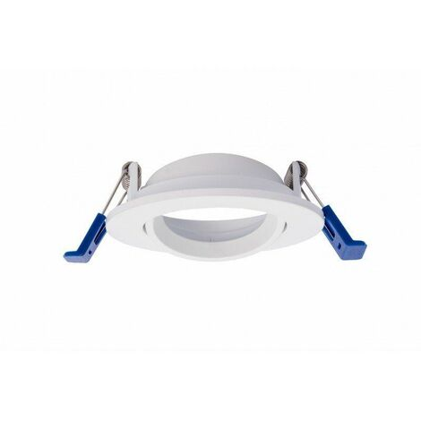 Silver Electronics Aro BOLT Circular con soporte Basculante blanco